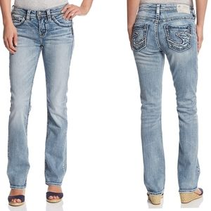 Silver Jeans Co. Suki High Rise Baby Bootcut 27/31